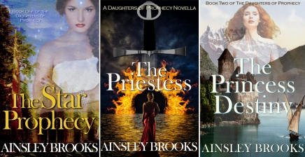 Image of The Three books in the Daughters of Prophecy Series